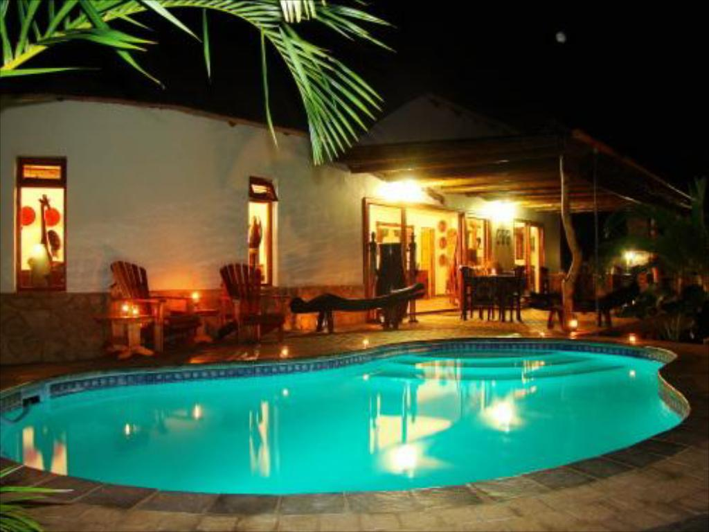 Swimming pool Lodge Afrique