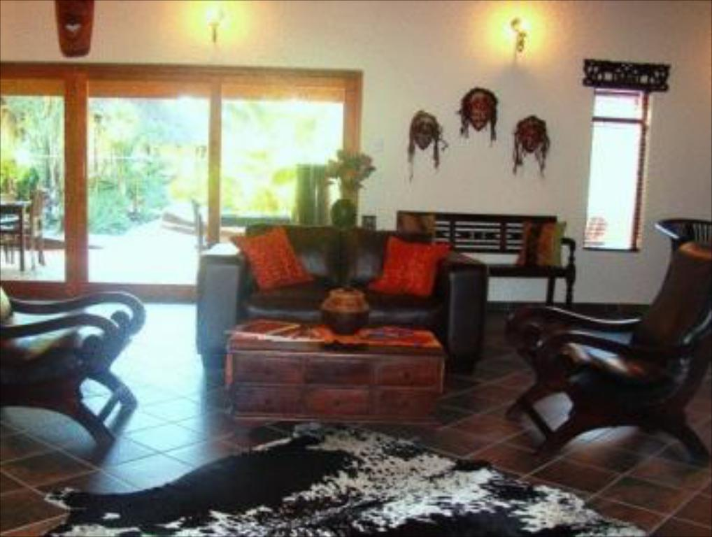 Interior view Lodge Afrique