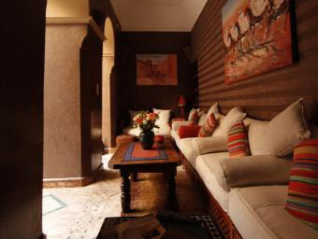Interior view Riad Arocha