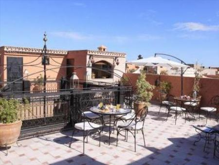 Balcony/terrace Riad Nesma Suites & Spa