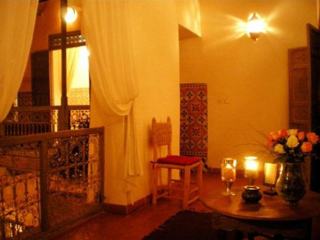 Interior view Riad Zahr