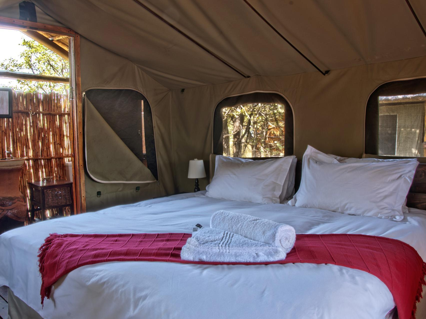 Safari Tent With Own Shower