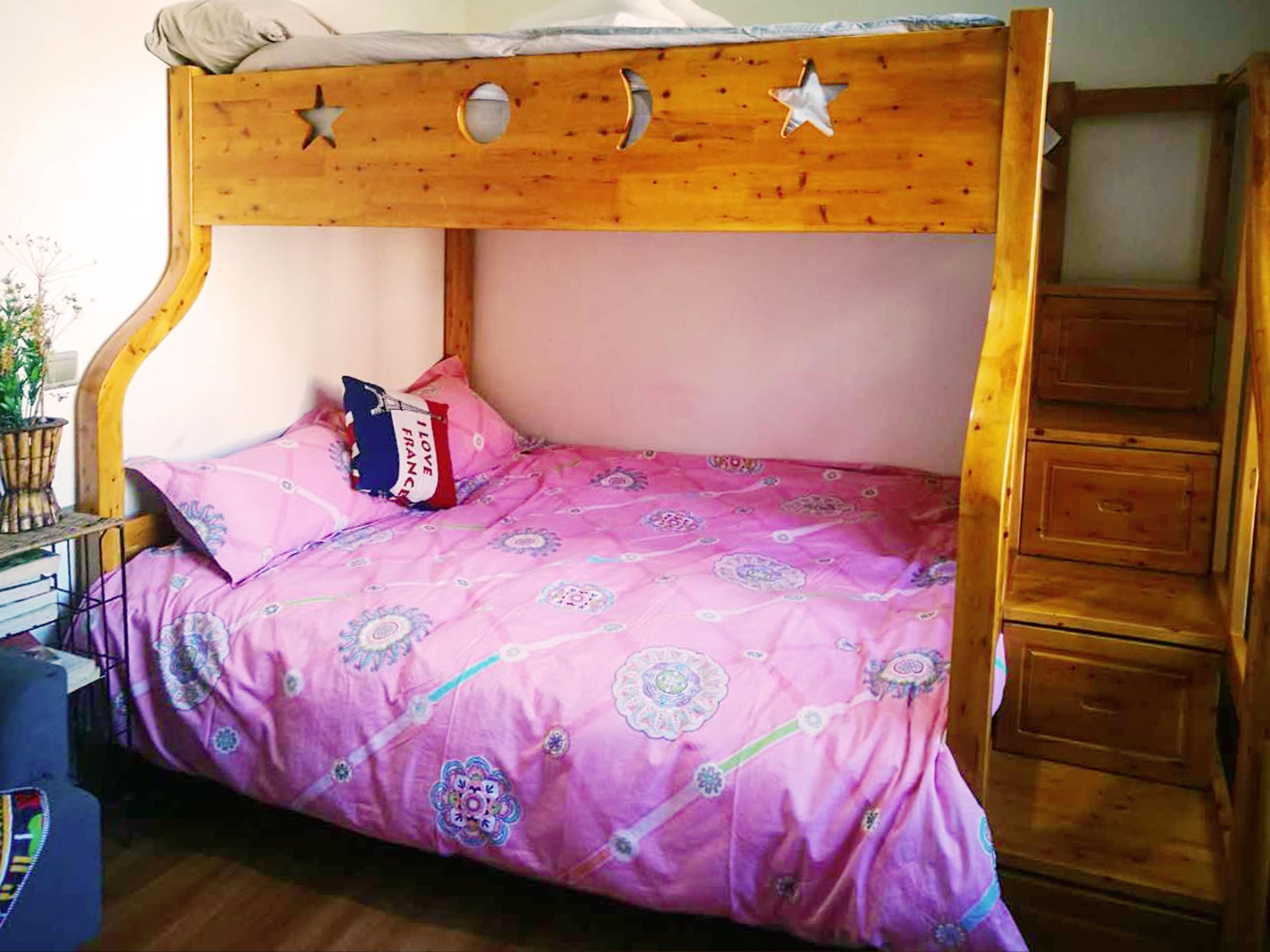 Bunk Bed Room for 3 persons