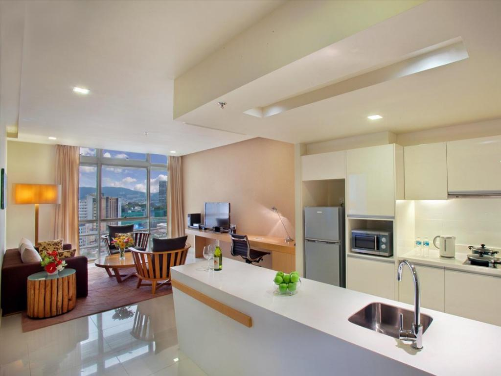 Interior view PARKROYAL Serviced Suites Kuala Lumpur