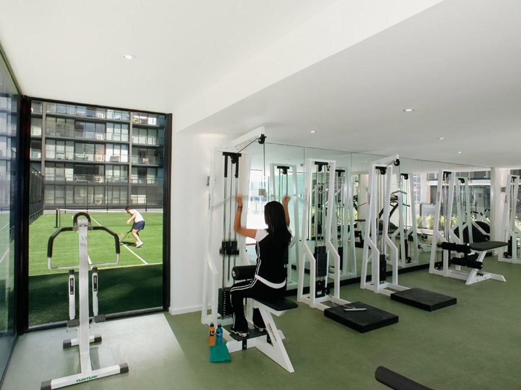 Fitness center Melbourne Short Stay Apartments - Southbank Collection