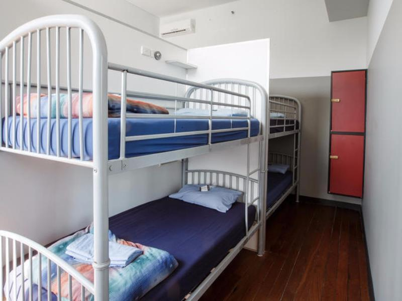 1 Person in 4-Bed Dormitory with Shared Bathroom - Mixed