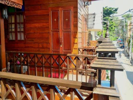 balcon/terrasse The Old Chiangkhan Boutique Hotel