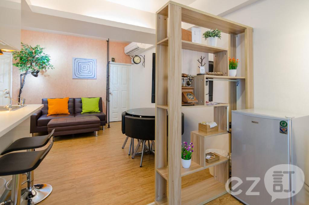 Interiér Tainan near Flower Night Market & Tainan Park - A leaf hostel Family room (Tainan near Flower Night Market & Tainan Park - A leaf  hostel Family room )