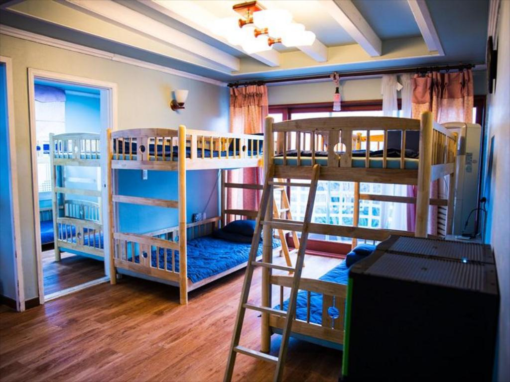 1 Person in 10-Bed Dormitory - Male Only - Guestroom Jeju Dive Guesthouse & Pension
