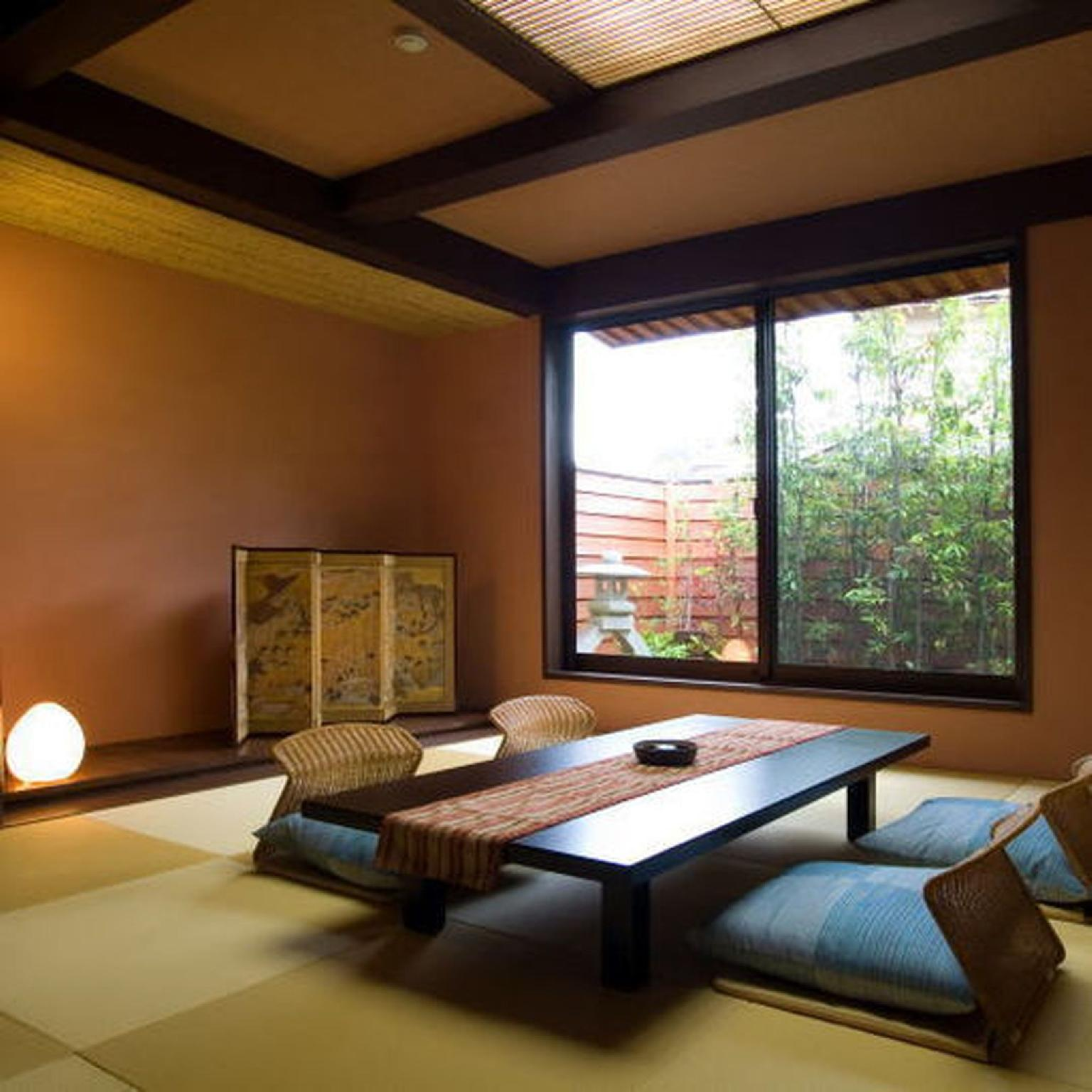 Japanese Style Annex with Open-Air Bath