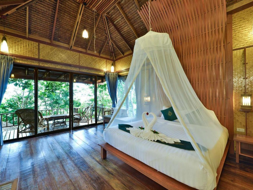 Deluxe Room Partial Ocean View - Balkon/teras Railay Great View Resort