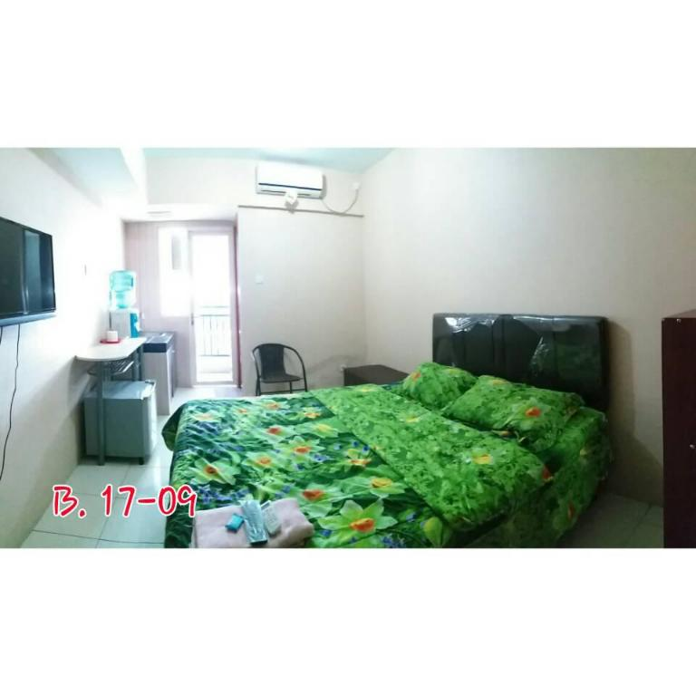 Studio Apartemen Green Lake View Hanna 4