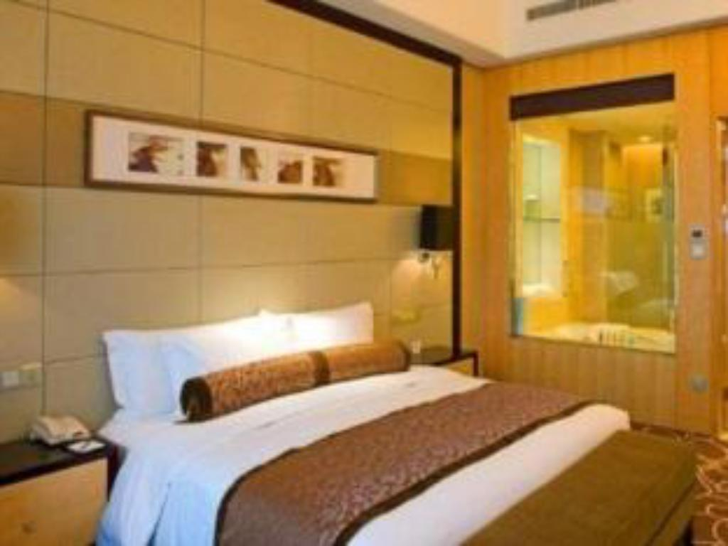1 King Bed Deluxe Smoking City View Crowne Plaza Yichang