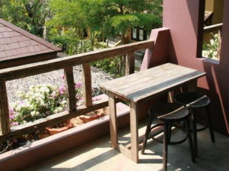 balcon/terrasse Baantoom Village and Resort