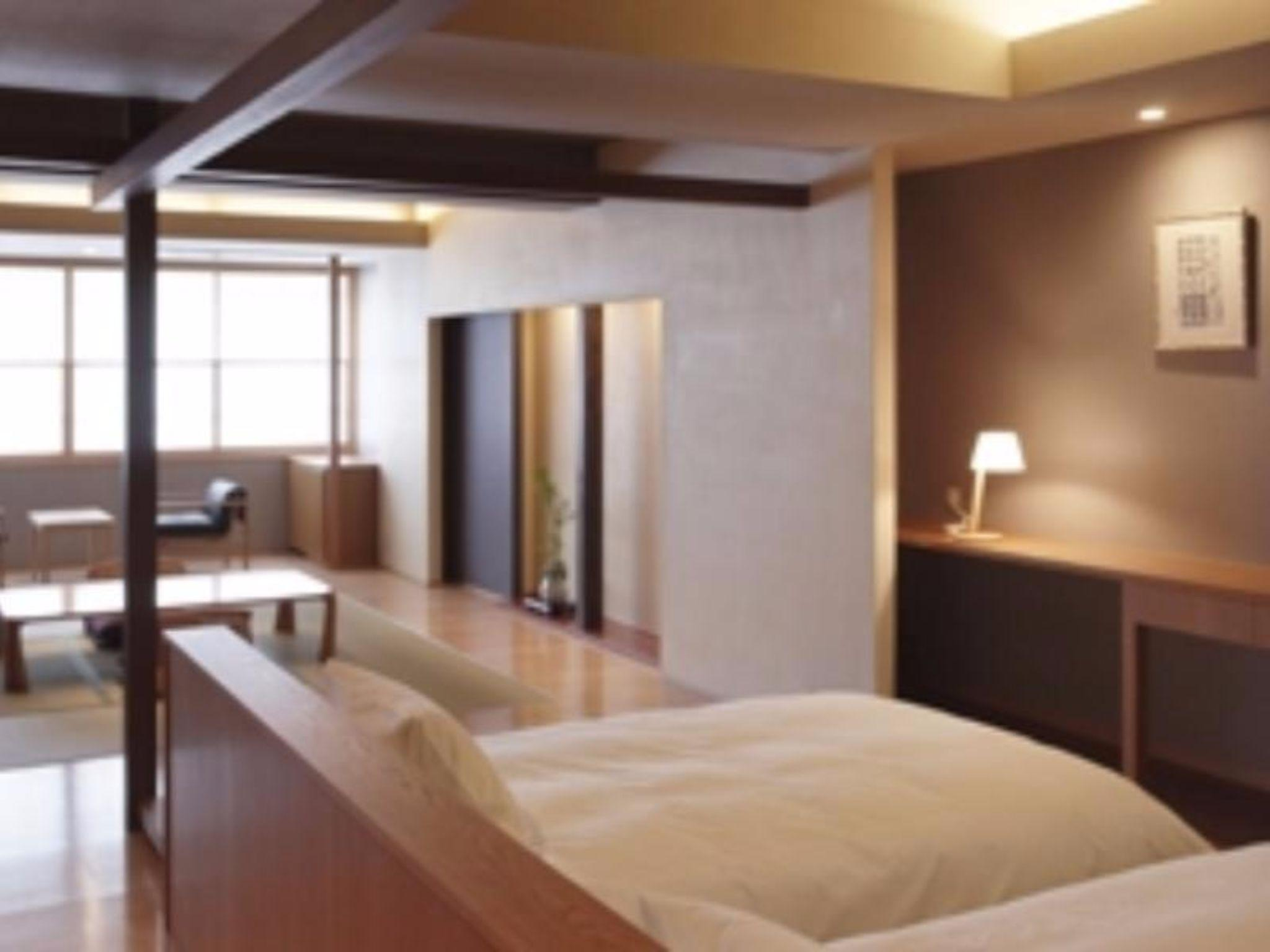 Sea View Japanese Western Style Room for 4 People with Twin Bed - Non-Smoking