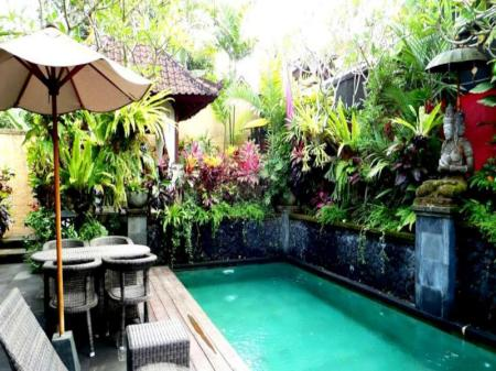 Kolam renang Bidadari Private Villas & Retreat