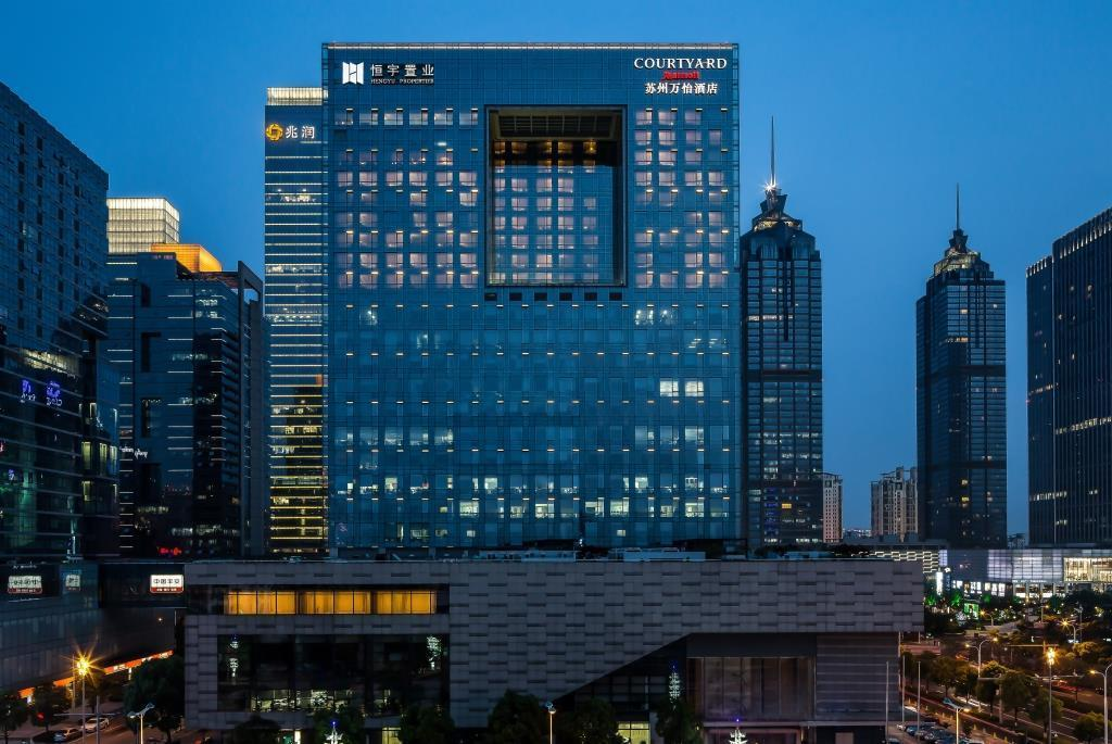 EXECUTIVE SUITE, Executive lounge access, 1 Bedroom Suite - View Courtyard by Marriott Suzhou