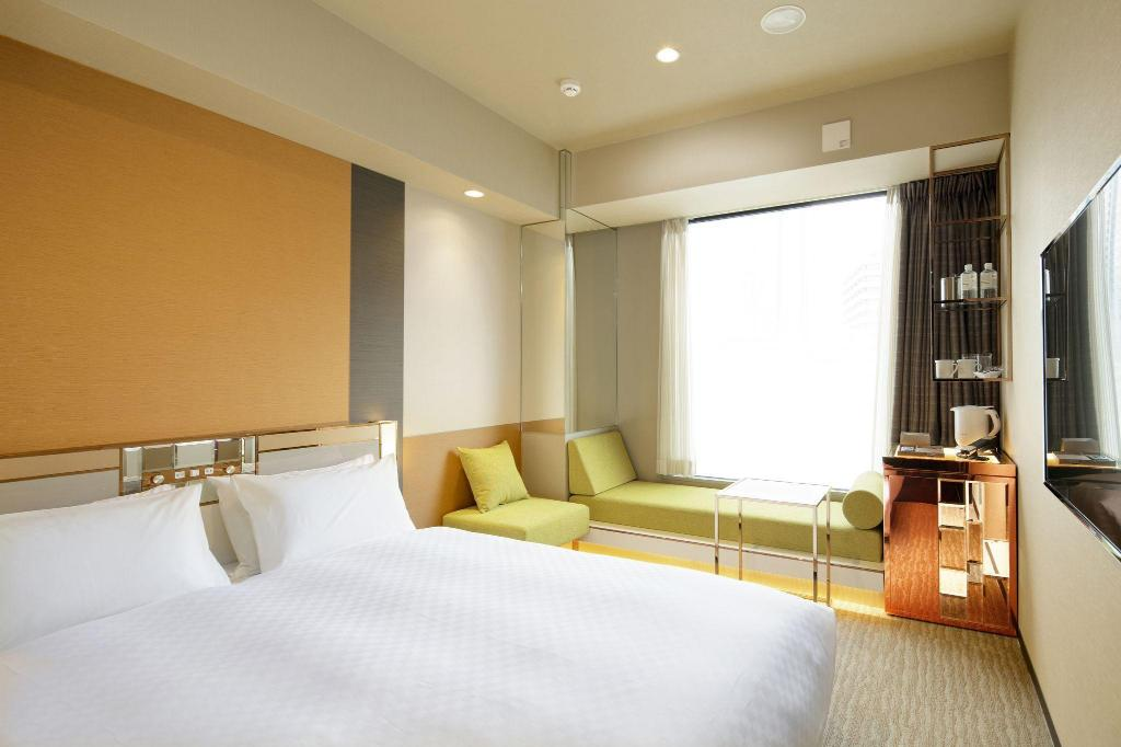 Executive Queen Room - Non-Smoking - Room plan Candeo Hotels Tokyo Roppongi
