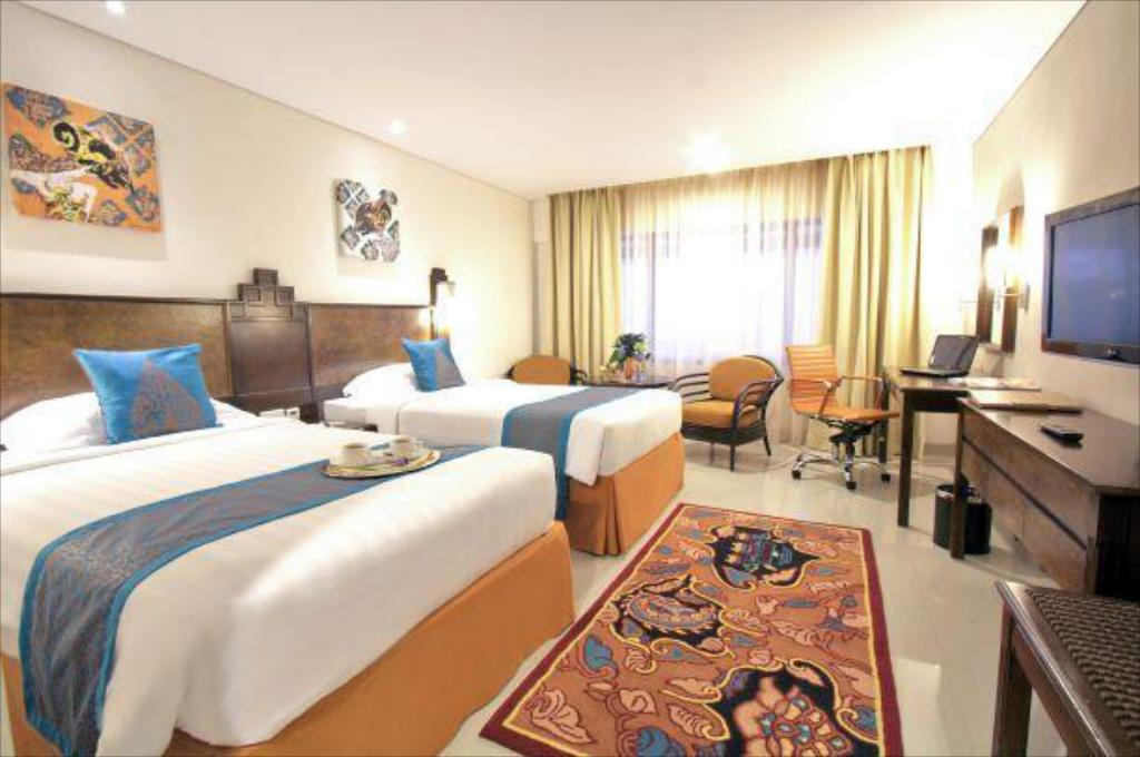 Deluxe Twin - Bedroom Grand Sahid Jaya Jakarta City Center