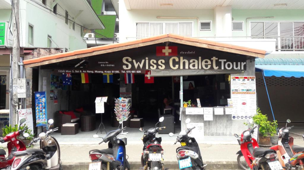 Exterior view Swiss Chalet Hotel