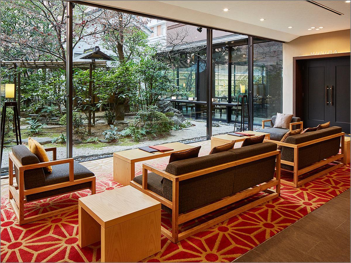 Lobby Mitsui Garden Hotel Kyoto Sanjo. Lobby