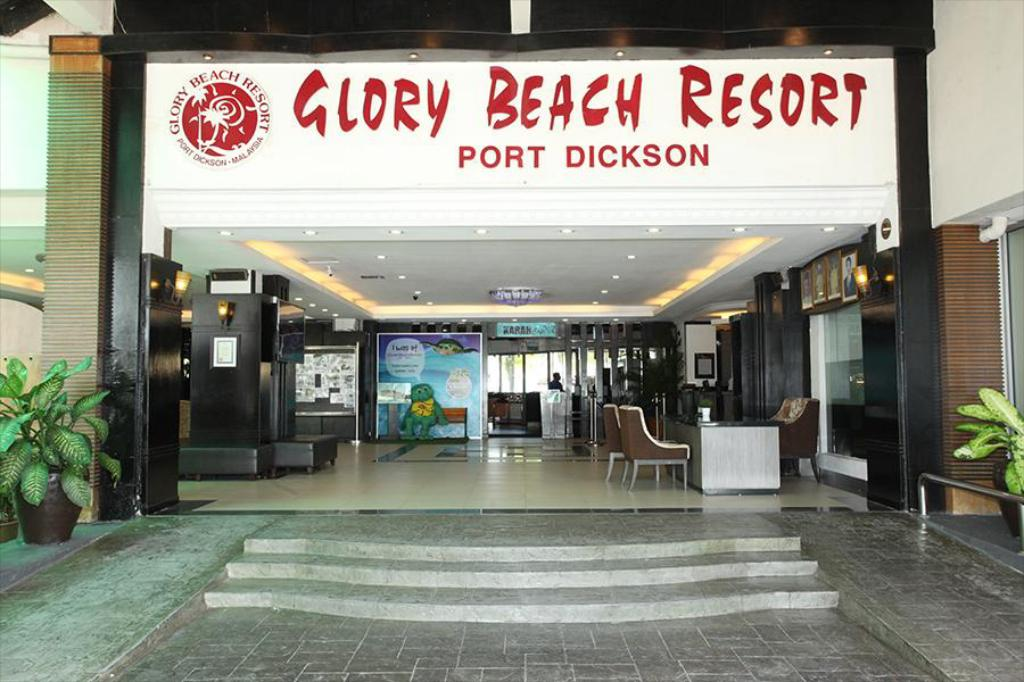 Lobby Glory Beach Resort