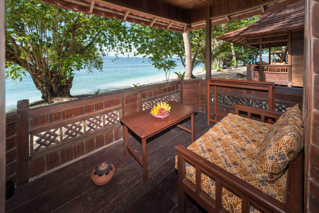 Balcony/terrace Murex Bangka Dive Resort