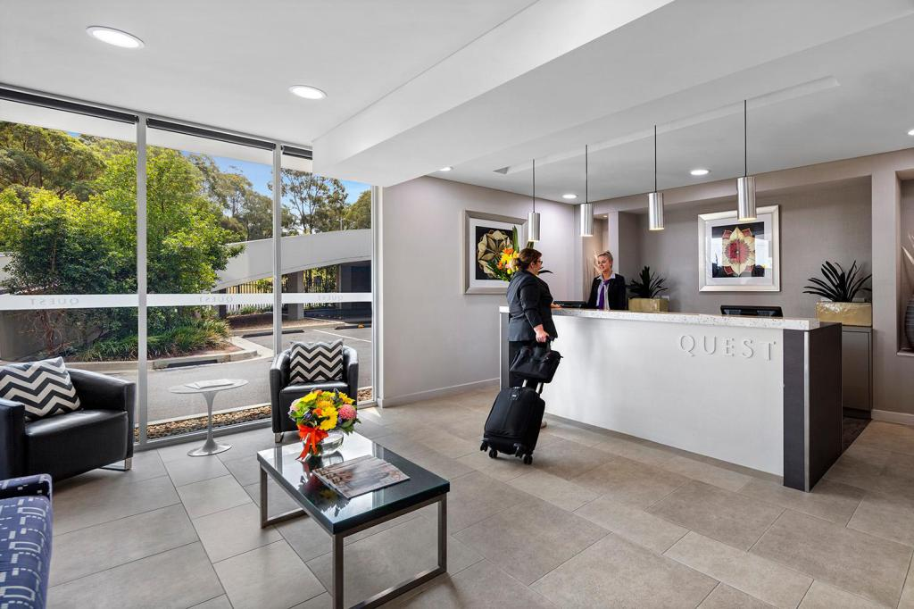 Lobby Quest Campbelltown Serviced Apartments