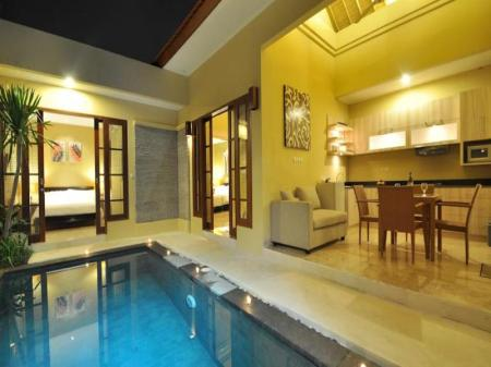 Interior view The Jas Villas