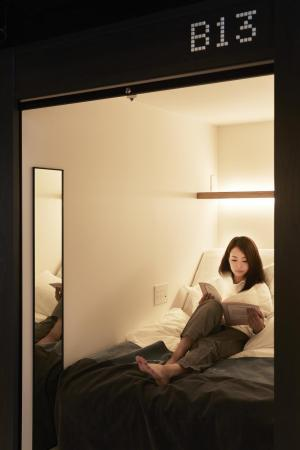 Smart Pod - Female Only - Bed The Millennials Kyoto