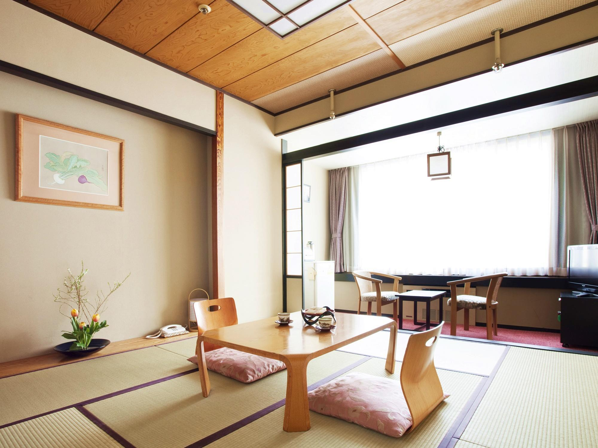 Standard Japanese Style Room with Bathtub