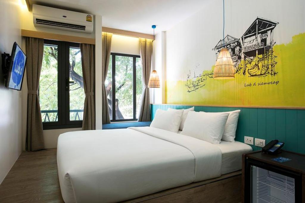 Deluxe Double or Twin Room Lub d Cambodia Siem Reap