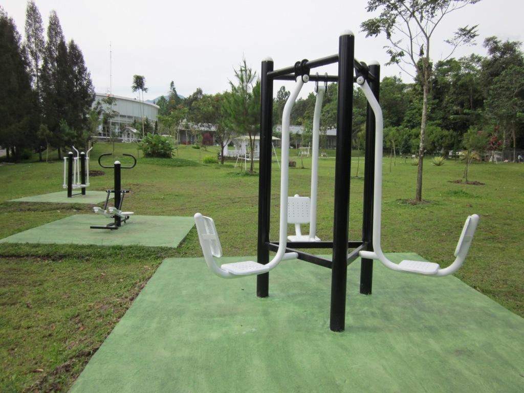 Fitness center The Hill Hotel & Resort Sibolangit