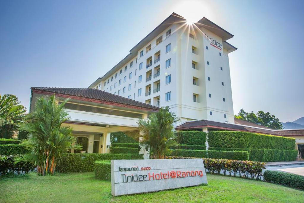 Empfangshalle Tinidee Hotel@Ranong