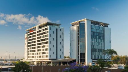 Exterior view ibis Brisbane Airport