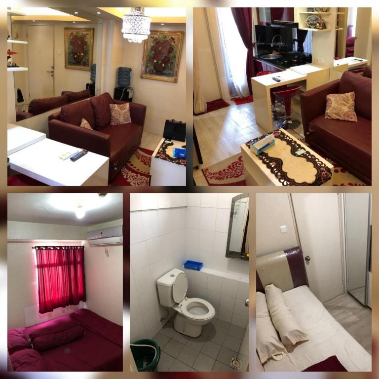 Pohled shora Kalibata City Apartment 2 BR - Metro Rent 1
