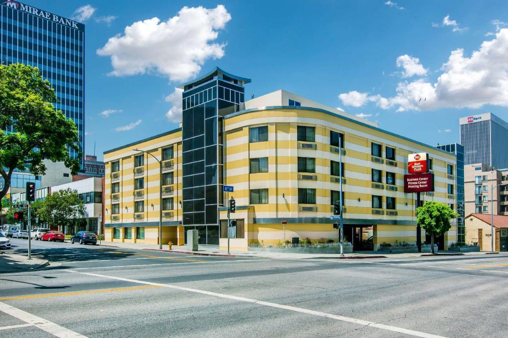 Best Western Plus La Mid-town Hotel In Los Angeles  Ca