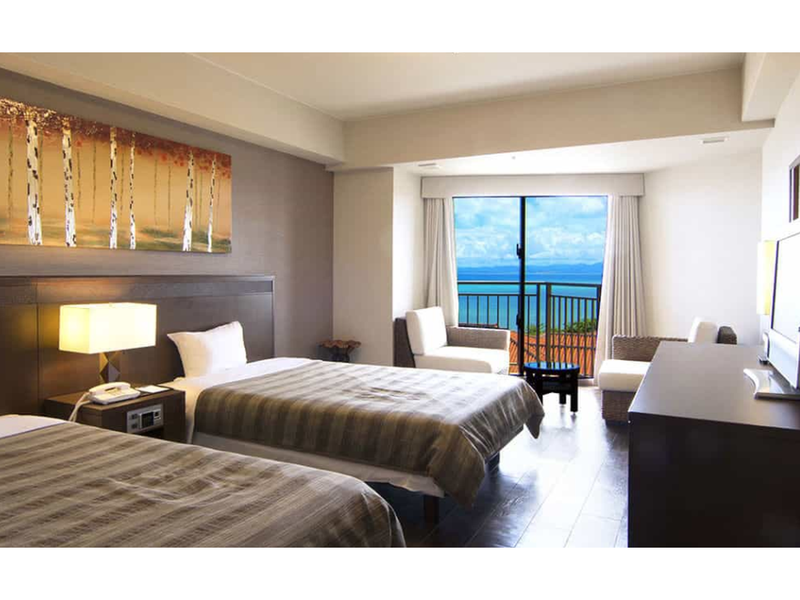 海景標準房(兩床) - 無障礙友善 (Standard Ocean View Twin Room - Disabled Access)