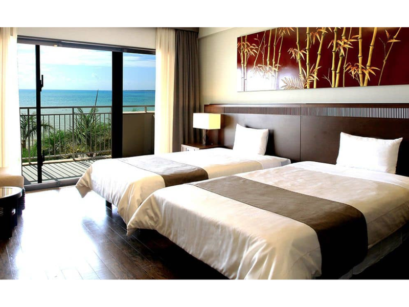 海景房(兩床/分館) - 禁菸 (Annex Ocean View Twin Room - Non-Smoking)