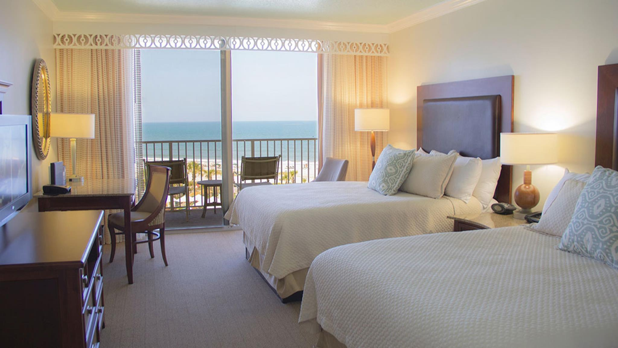 Classic Accessible Ocean View Deluxe Room – 2 Queen Beds