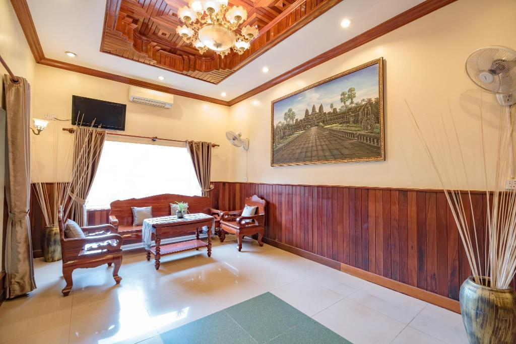 Lobby The Siem Reap Chilled Backpacker
