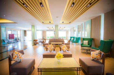 Lobby Golden City Rayong Hotel