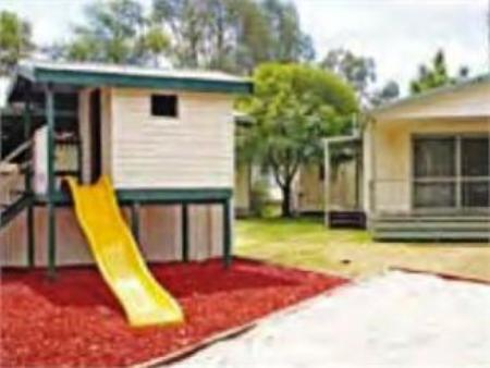 ملعب للأطفال Murray River Holiday Park