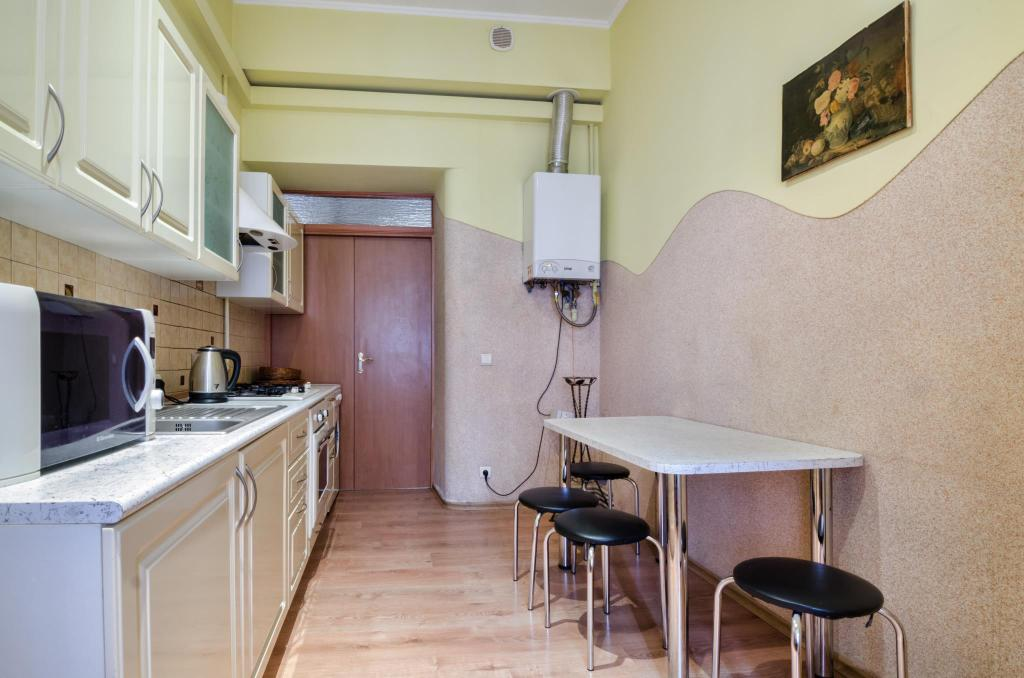 Keuken One Bedroom Apartment on  St. Teodora sqr.  3