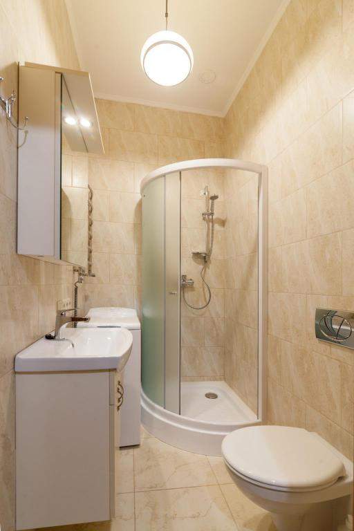 Bathroom One Bedroom Apartment on            I. Franka  13