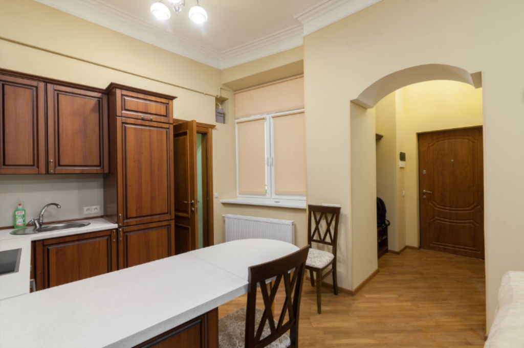 Keuken One Bedroom Apartment on           I. Franka  13a
