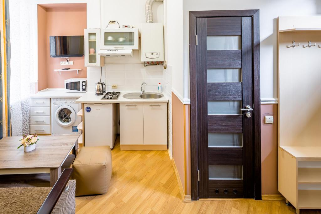 Keuken Two Bedrooms Apartment on    Fedorova  21