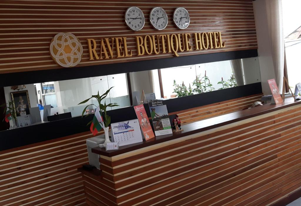 Reception Ravel Boutique Hotel