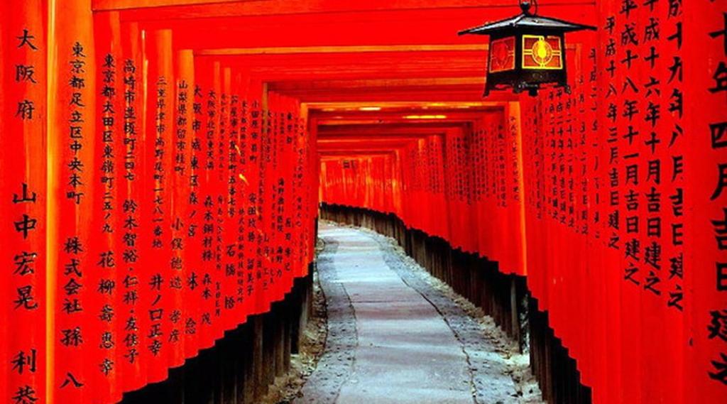 Kết quả hình ảnh cho đền Fushimi Inari Shine