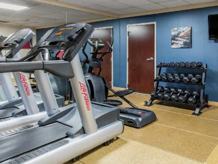 Fitness center luMINN Hotel Minneapolis, an Ascend Hotel Collection Member